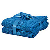 Hygro Cotton 2 Pack Hand Towels - Lagoon