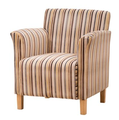 Sofa Collection Vivaldi Tub Chair- Brown