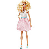 Barbie Fashionistas Doll Powder Pink Dress
