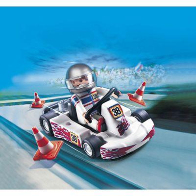 Playmobil - Racing Driver with Cart Gift Egg 4932