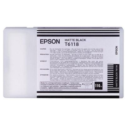Epson T6118 Matte Black Stylus 9400 for PRO7400 (110ML)