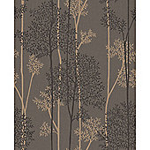Superfresco Easy Eternal Paste The Wall Branch Trail Brown/Bronze Wallpaper