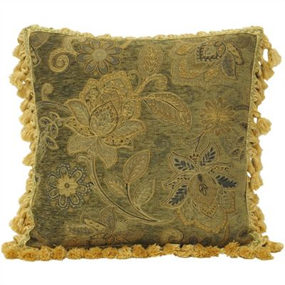 Riva Home Assam Green Cushion Cover - 55x55cm