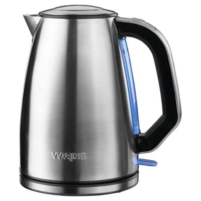 Waring Cordless Jug Kettle, 1.7L - Brushed Stainless Steel