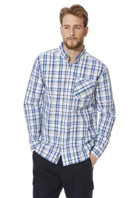 Regatta Bacchus Checked Long Sleeve Shirt Blue/Multi S