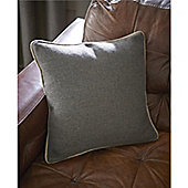 Catherine Lansfield Brushed Heritage Plain Cushion Cover 45x45cm - Grey
