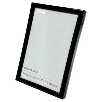 Basic Black Photo Frame 4 x 6
