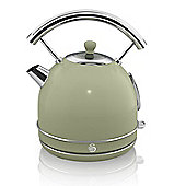 Swan Retro 1.7 Litre Dome Kettle - Green