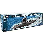 Revell Us Navy Skipjack Class Submarine 1:72 Model Kit - 05119