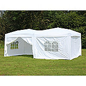 Palm Springs 10' X 20' Pop Up Gazebo With Sides White