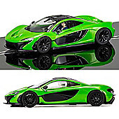 SCALEXTRIC Slot Car C3756 McLaren P1 - Green