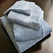 Homescapes Turkish Cotton Light Blue Bath Towels Set