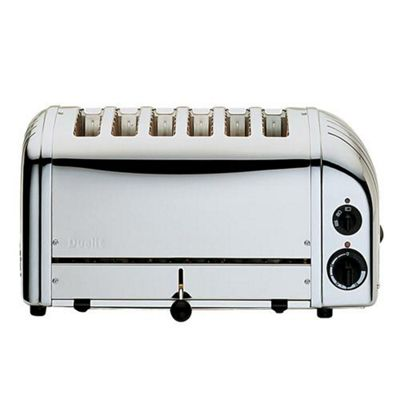Dualit Vario 60144 6 Slice Toaster - Stainless Steel
