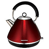 Morphy Richards Pyramid Kettle, 1.5L - Red