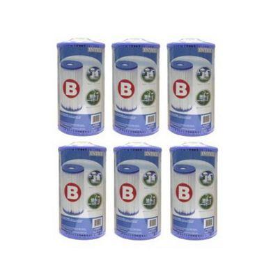 Intex 29005 Type B Cartridge Filter- Pack Of 6