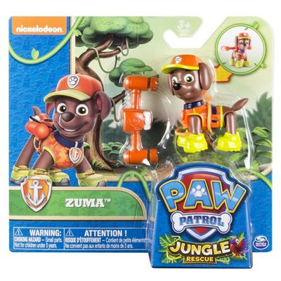Paw Patrol Hero Pup Pack Jungle Rescue - Zuma