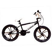 """Zombie Brute BMX Bike 20"""" Mag Wheels Black"""