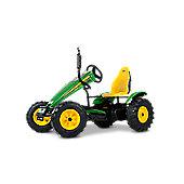 Pedal Go Kart - Green & Yellow Go Kart for Kids - BERG John Deere BFR-3
