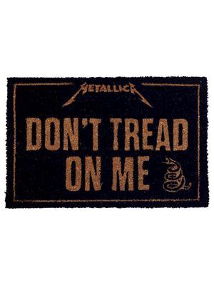 Metallica Don't Tread On Me Door Mat 40x60cm,