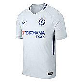 Nike Chelsea FC Away Football Jersey 17/18 - Grey