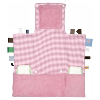 Snoozebaby Travel Changing Pad - Elephant Pink