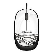 Logitech LGT-M105W M105 mouse 1000 DPI white