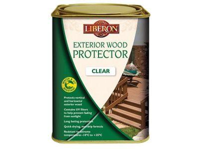 Liberon LIBEWPC1L 1 Litre Exterior Wood Protector Clear