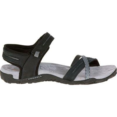 Merrell Ladies Terran Cross II Sandal Black 5