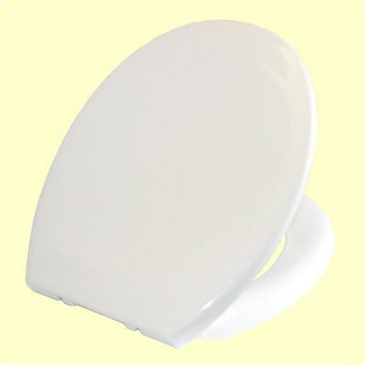 Opal Deluxe Soft Close White Toilet Seat and Cover QUICK RELEASE HINGES