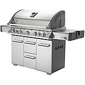 Napoleon LEX730RSBI BBQ with Side Burner Infrared Bottom and Rear Burners