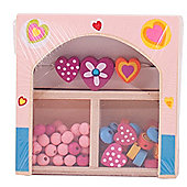 Bigjigs Toys Mini Jewellery Kit (Pink)