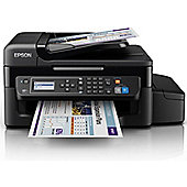 Epson EcoTank ET-4500, Wireless All-in-One Inkjet Colour Printer, A4 - Black