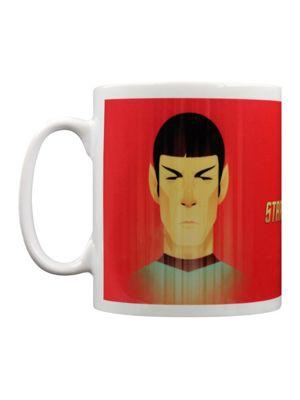 Star Trek Beaming Spock 50th Anniversary 10oz Ceramic Mug