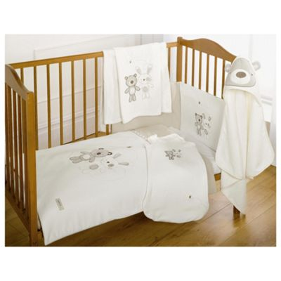Freddie and Flo Cot quilt and Bumper set
