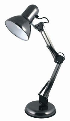 Home Essence Hobby 40W Desk Lamp in Black Chrome