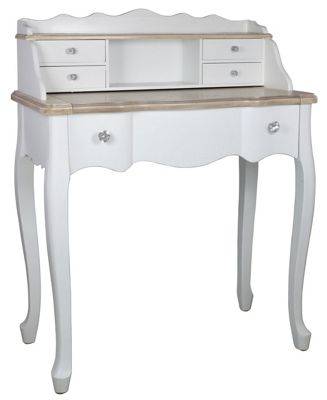 White Country Cottage Dressing Table