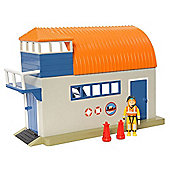 Fireman Sam Adventure Playset with Figure - Boathouse