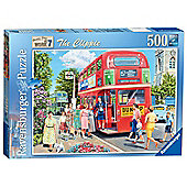 Ravensburger The Clippie Bus Conductress 500-Piece Jigsaw Puzzle
