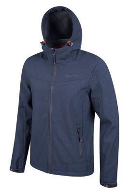 Mountain Warehouse Reykjavik Mens Textured Softshell Jacket ( Size: XXXL )