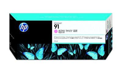 HP 91 Pigment Light Magenta Ink Cartridge C9471A