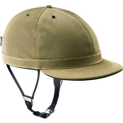 YAKKAY Cambridge Gold Helmet Cover: Small (53-55cm).