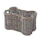 Rattan Bone Pet Basket Without Lid