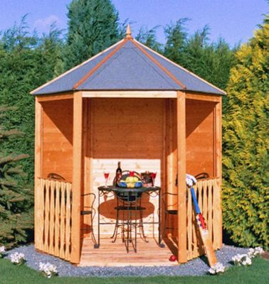 Wooden Gazebo 6x7 by Finewood