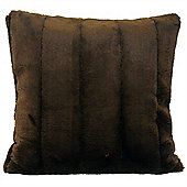 Riva Home Empress Chocolate Soft Cushion Cover - 55x55cm