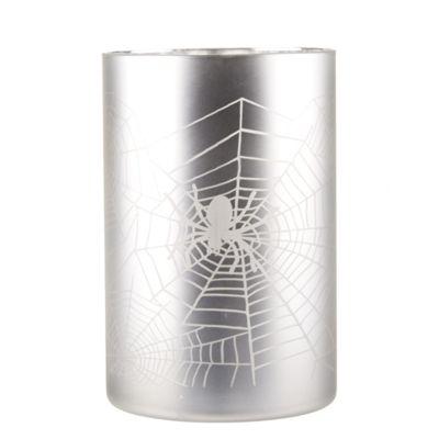 Halloween Spiders Web Tea Light Holder - Large