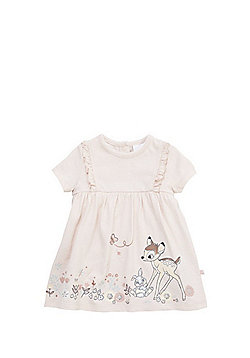 Disney Bambi Dress with Integrated Bodysuit - Baby Pink