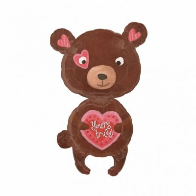 Party - My Fuzzy ValentineSuperShape Foil Balloon 29 - Amscan