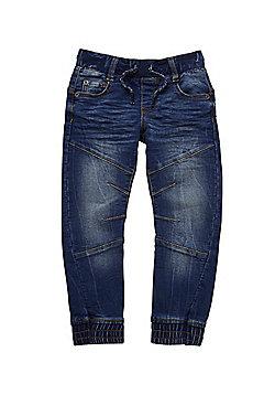 F&F Loopback Jogger Jeans - Indigo