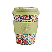 Ecoffee Cup Papafranco with Olive Green Silicone 12oz