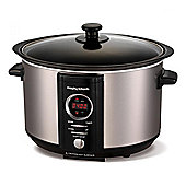 Morphy Richards 460004 3.5L Slow Cooker with 3 Settings in Stainless Steel